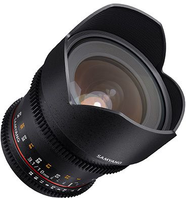 Samyang 10 mm T 3.1 VDSLR ED AS NCS CS II