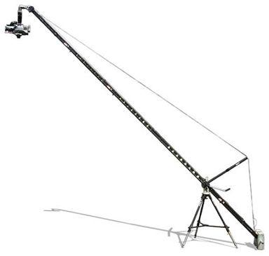 ABC Crane 100 mit teilbarem Turmrohr