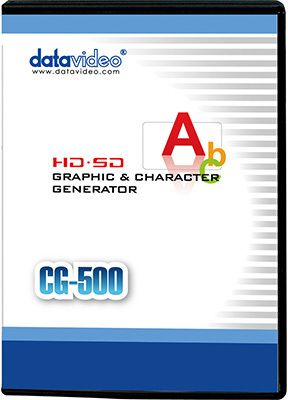 Datavideo CG-500 Titelgenerator-Software