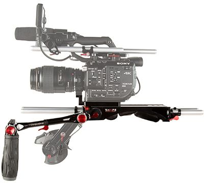 Shape Sony FS5,FS5M2 Baseplate Bundle Rig with Metabones Support (FS5BR)