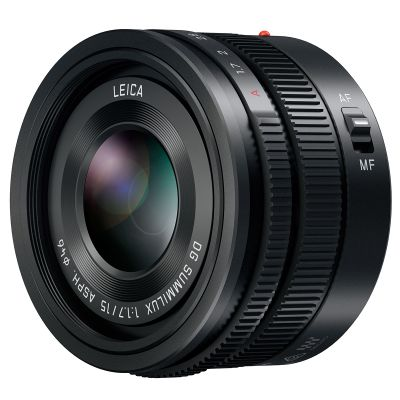 Panasonic Leica DG Summilux 15mm/f1.7 (H-X015E-K)