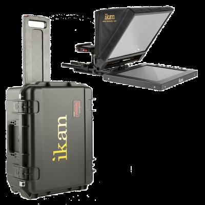 "Ikan PT1200 12"" Travel Kit with Rolling Hard Case (PT1200-TK)"